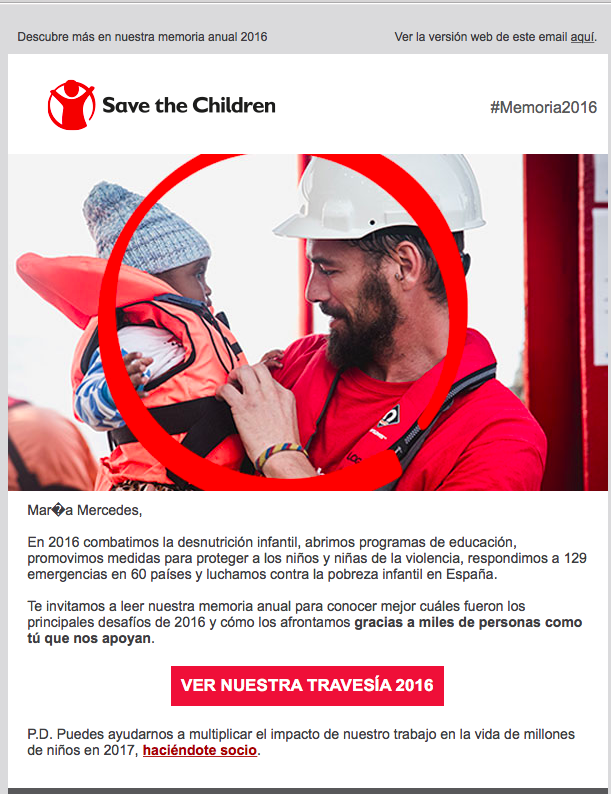 newsletter de save the children