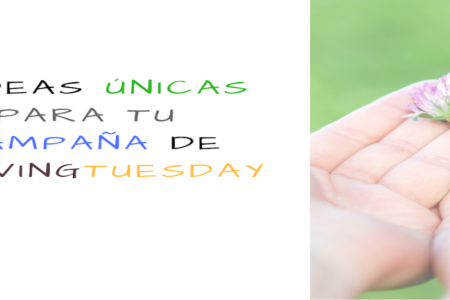 6 ideas para captar fondos en givingtuesday